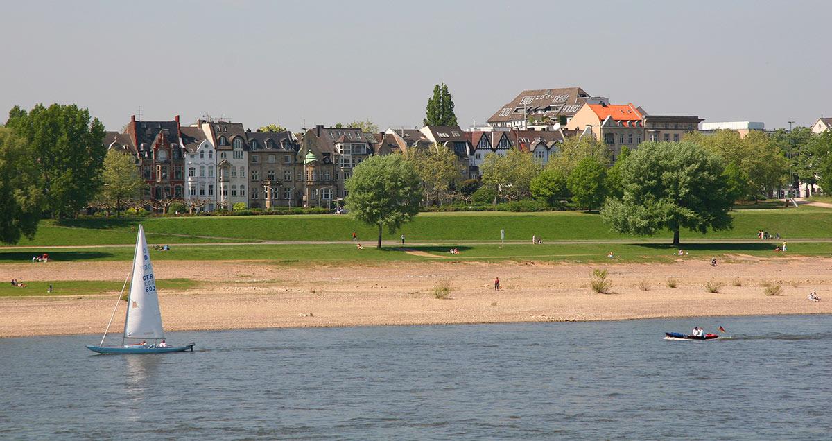 Besten Wohnlagen in Düsseldorf