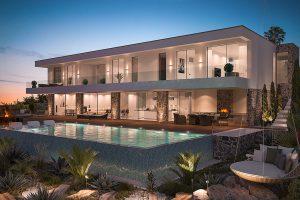 3D Visualisierung Villa