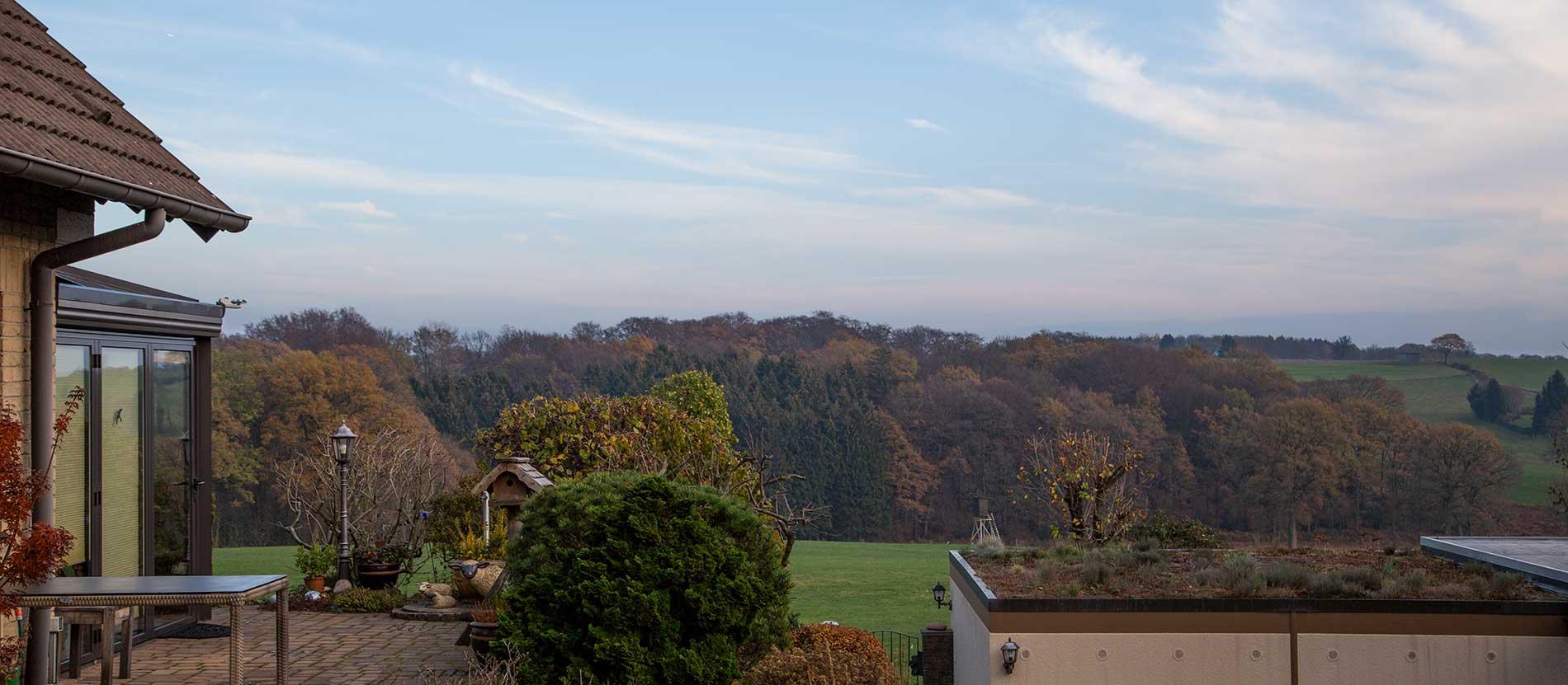 Einfamilienhaus mit Panoramablick