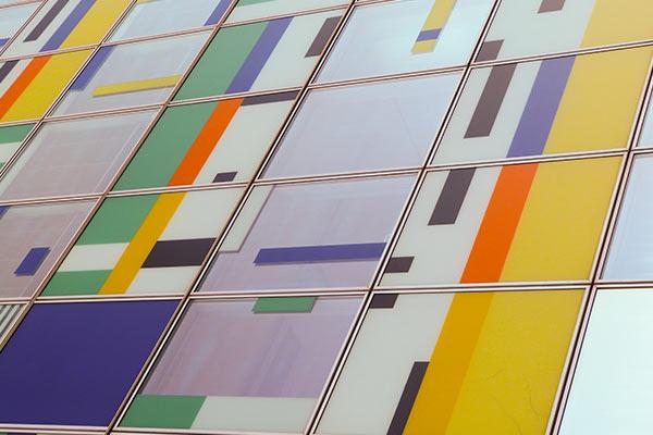 Colorium Fassadenausschnitt