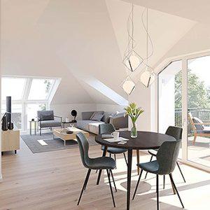Dachgeschoss-Wohnung Düsseldorf
