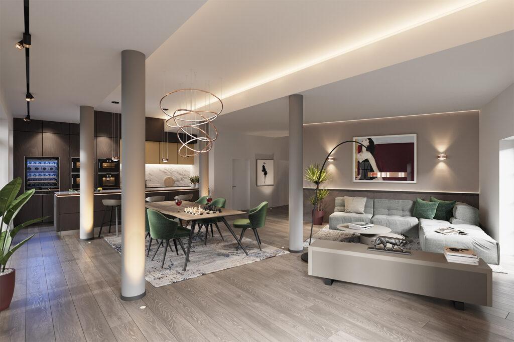 Exklusive Wohnung Düsseldorf Unterbilk