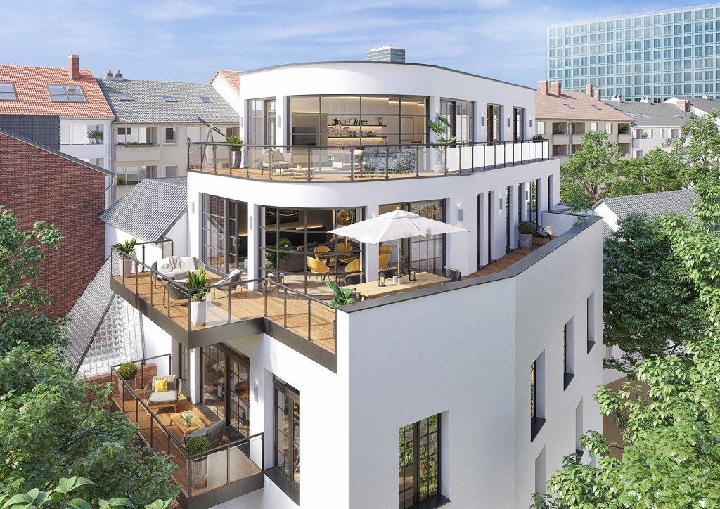 Lofts in Düsseldorf Unterbilk